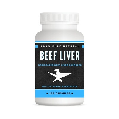 Beef Liver Capsules