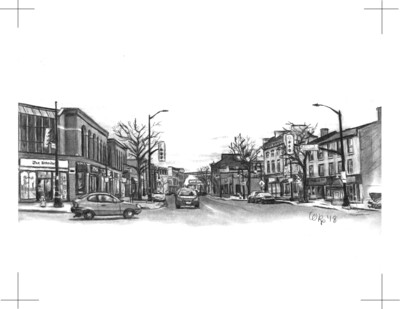 St. Catharines - Ontario and St. Paul Intersection - Print