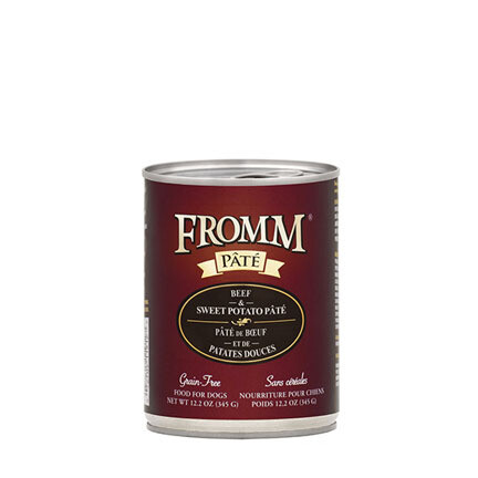 Fromm Dog GF Beef Swt Potato 12oz