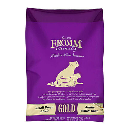 Fromm Dog Gold Sm Breed Adult 15#