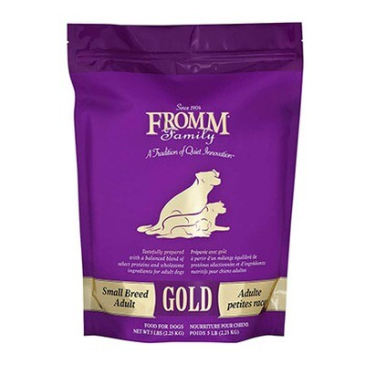 Fromm Dog Gold Sm Breed Adult 5#