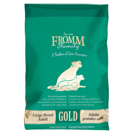 Fromm Dog Gold Lg Breed Adult 33#