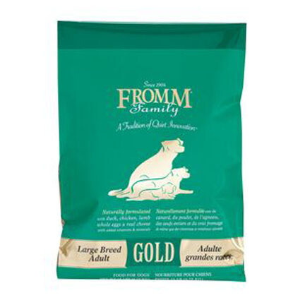 Fromm Dog Gold Lg Breed Adult 15#