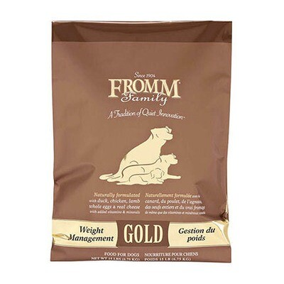 Fromm Dog Gold Weight 15#