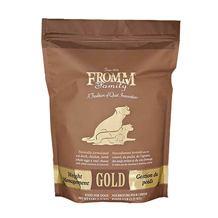 Fromm Dog Gold Weight 5#