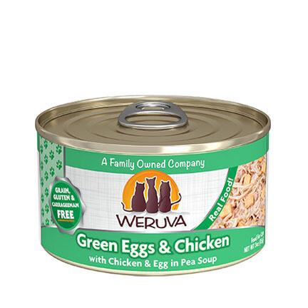 Weruva Cat Green Eggs 3oz