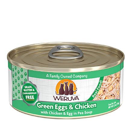 Weruva Cat Green Eggs 5oz