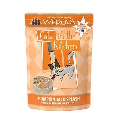 Weruva Cat Pumpkin Jack 3oz