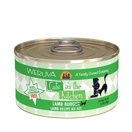 Weruva Cat Lamb Burgerini 6oz