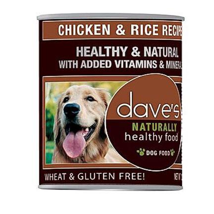 Daves Dog Chicken/Rice 13oz