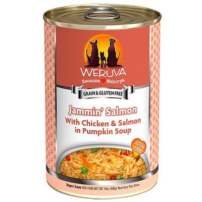 Weruva Dog Jammin Salmon 14oz
