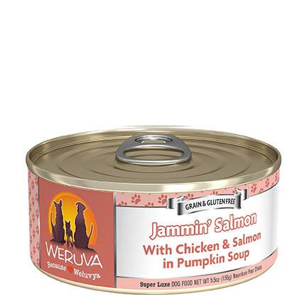 Weruva Dog Jammin Salmon 5oz