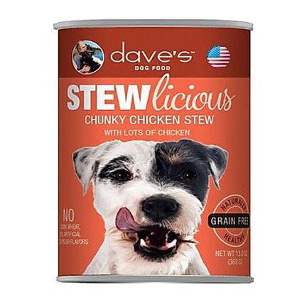 Daves Dog Chunky Chicken Stew 13oz