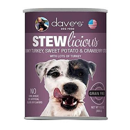 Daves Dog Turkey Stew 13oz
