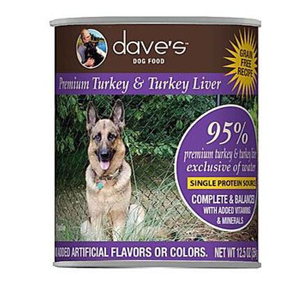 Daves Dog 95% Turkey 13oz