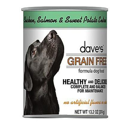 Daves Dog GF Chick/Salmon 13oz