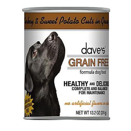 Daves Dog GF Turkey/Swt Potato 13oz