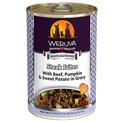 Weruva Dog Steak Frites 14oz
