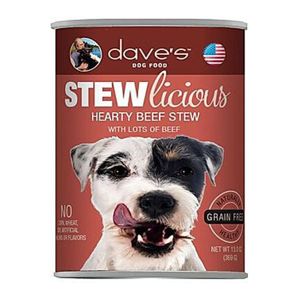 Daves Dog Hearty Beef Stew
