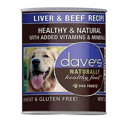 Daves Dog Liver/Beef 13oz