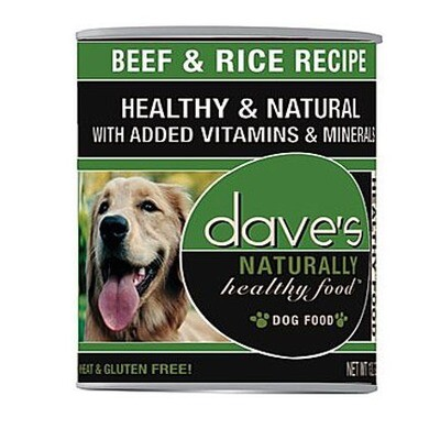 Daves Dog Beef/Rice 13oz