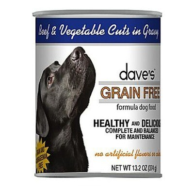 Daves Dog GF Beef/Veg 13oz