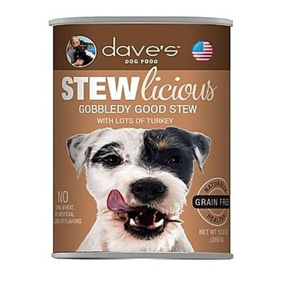 Daves Dog Gobbledy Stew 13oz