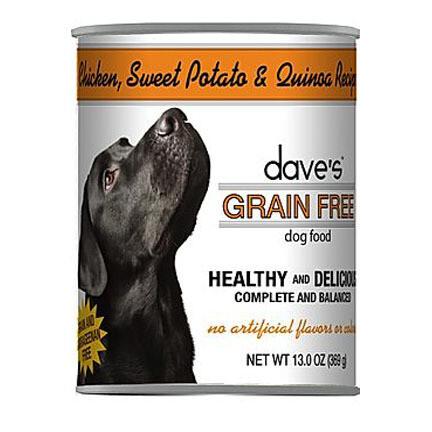 Daves Dog GF Chick/SwtPot/Q 13oz