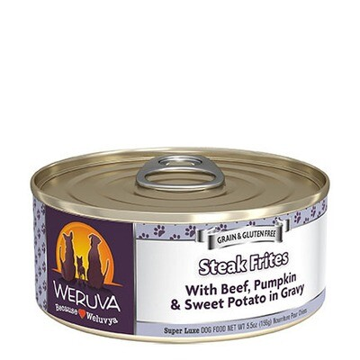 Weruva Dog Steak Frites 5oz
