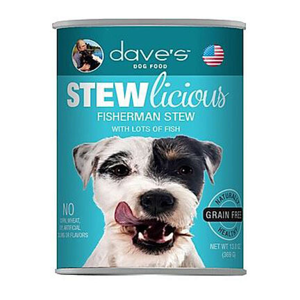 Daves Dog Fisherman Stew 13oz