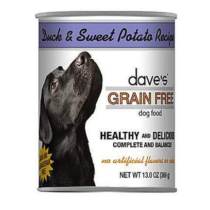 Daves Dog GF Duck/Swt Potato 13oz