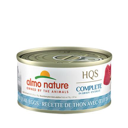 Almo Complete Tuna/Quail Egg 3oz