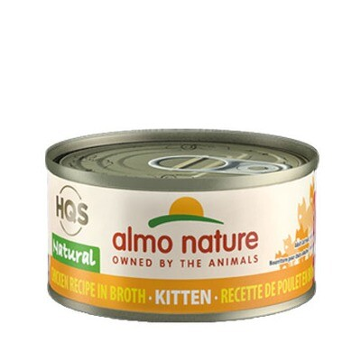 Almo Natural Kitten Chicken 3oz