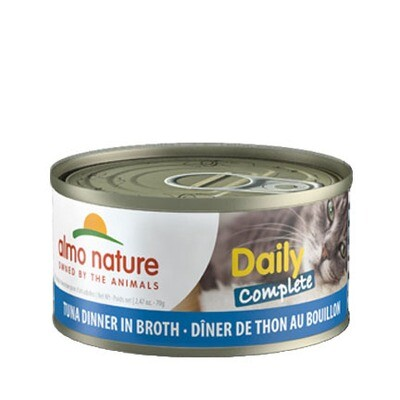 Almo Daily Complete Tuna/Broth 3oz