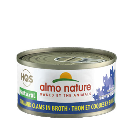 Almo Natural Tuna/Clams 3oz
