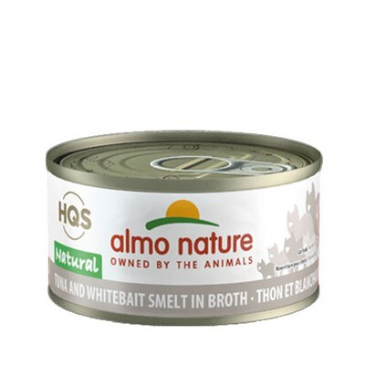 Almo Natural Tuna/Whitebait 3oz