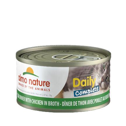 Almo Daily Complete Tuna/Chicken 3oz