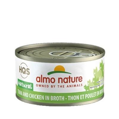 Almo Natural Tuna/Chicken 3oz