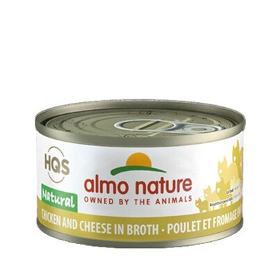 Almo Natural Chicken/Cheese 3oz