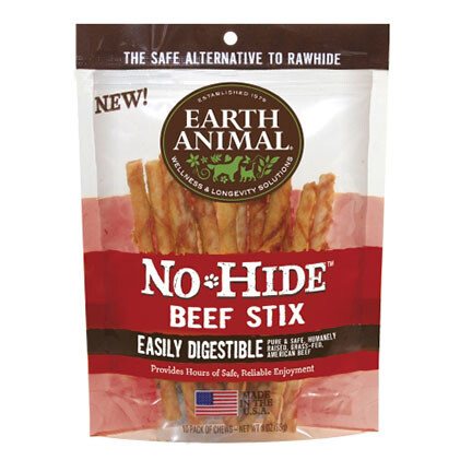 Earth Animal No Hide Beef Stix 10ct