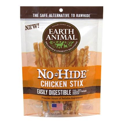 Earth Animal No Hide Chicken Stix 10ct
