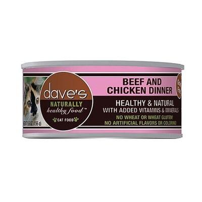 Daves Cat Beef/Chicken 5oz