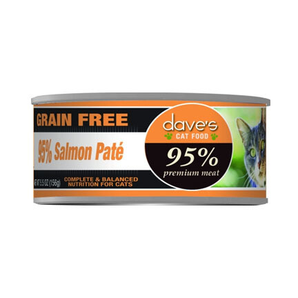 Daves Cat 95% Salmon 5oz