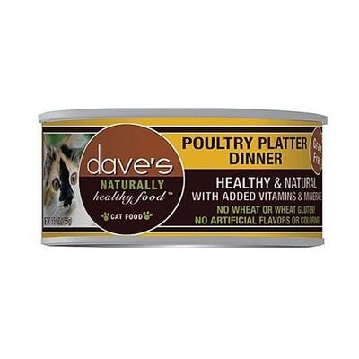 Daves Cat Poultry Platter 5oz