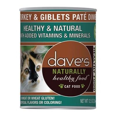 Daves Cat Turkey/Giblets 13oz