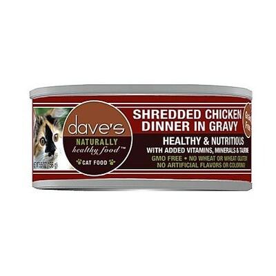 Daves Cat Shredded Chicken 5oz