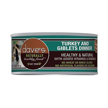 Daves Cat Turkey/Giblet 5oz
