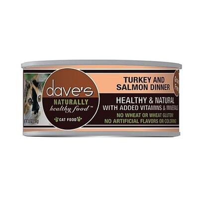 Daves Cat Turkey/Salmon 5oz