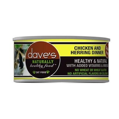 Daves Cat Chick/Herring 5oz