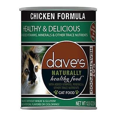 Daves Cat Chicken 13oz